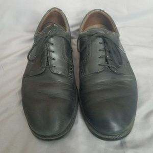 Mens leather casual dress shoes